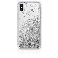 White Diamonds Sparkle pre Apple iPhone XS/X – strieborné hviezdy