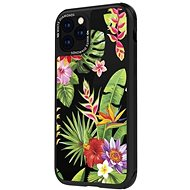 White Diamonds Jungle Case pre iPhone 11 Pro – kvety