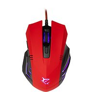 White Shark HANNIBAL-2 RED - Herná myš