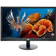"""24"""" AOC E2470Swhe - LCD monitor"""