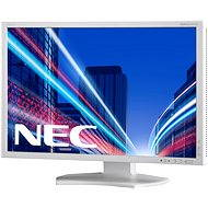 "23"" NEC MultiSync LED P232W strieborno-biely - LCD monitor"