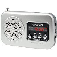 Orava RP-130 S strieborný - Rádio