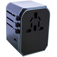 Wontravel JY-305A – UK, EÚ, US -> EÚ, UK, US; 4× USB, USB-C