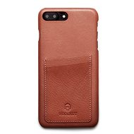 Woolnut Wallet Case na iPhone 7+/8+ Cognac - Puzdro na mobil