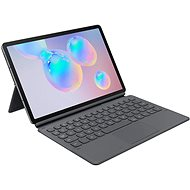 Samsung Ochranný kryt s klávesnicou na Galaxy Tab S6 sivý - Puzdro na tablet