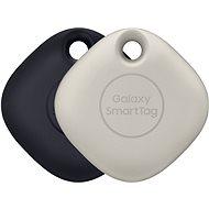 Bluetooth lokalizačný čip Samsung Inteligentný prívesok Galaxy SmartTag (balenie 2 ks) čierny & oatmeal