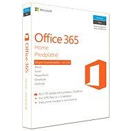 Microsoft Office 365 Home SK - Kancelársky balík