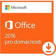 Microsoft Office 2016 pre domácnosti - Elektronická licencia