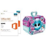 Microsoft Office 365 pro jednotlivce Bundle 1 + 1,  navíc dárek Fur Balls Touláček - Elektronická licencia