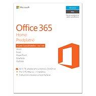 Microsoft Office 365 Home Premium SK (elektronická licence)