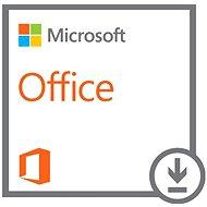 Microsoft Office Standard 2016 SNGL OLP - Elektronická licencia
