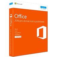 Microsoft Office 2016 pre domácnosti a podnikateľov CZ - Kancelárska aplikácia