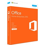 Microsoft Office 2016 Home and Business ENG - Kancelársky balík