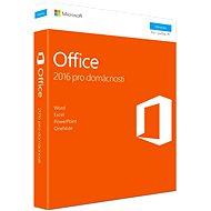 Microsoft Office 2016 pre domácnosti - Kancelárska aplikácia