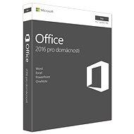 Microsoft Office Home and Student 2016 CZ pre MAC - 1 používateľ/1 počítač - Kancelársky balík