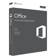 Microsoft Office Home and Student 2016 ENG pre MAC - 1 užívateľ/1 počítač - Kancelársky balík