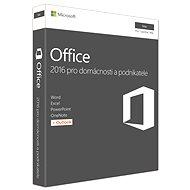 Microsoft Office Home and Business 2016 CZ pre MAC - 1 používateľ/1 počítač - Kancelársky balík