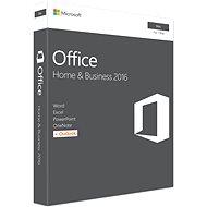 Microsoft Office Home and Business 2016 ENG pre MAC - 1 užívateľ/1 počítač - Kancelársky balík