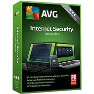 AVG Internet Security Unlimited – pre neobmedzene zariadení na 12 mesiacov (BOX)