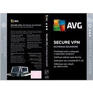 AVG Secure VPN pre 5 zariadení na 12 mesiacov (BOX) - Internet Security