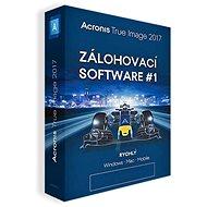 Acronis True Image 2018 CZ pre 5 PC (elektronická licencia) - Zálohovací softvér