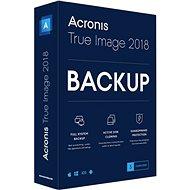 Aktualizácia Acronis True Image 2018 CZ pre 3 počítače (elektronická licencia) - Zálohovací softvér