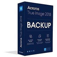 Acronis True Image 2018 CZ Upgrade pre 5 PC (elektronická licencia) - Zálohovací softvér