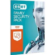 ESET Family Security Pack pre 3 počítače a 3 mobilné zariadenia na 12 mesiacov (elektronická licencia) - Bezpečnostný softvér