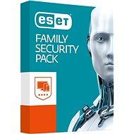 ESET Family Security Pack pre 4 zariadenia na 18 mesiacov SK - Bezpečnostný softvér