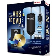 Easy VHS to DVD 3 Plus EN/FR/DE/ES/IT/NL - Burning Software