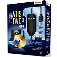 Easy VHS to DVD 3 Plus EN/FR/DE/ES/IT/NL - Napaľovací program
