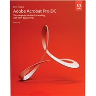 Adobe Acrobat Pro DC 2017 ENG WIN BOX - Softvér