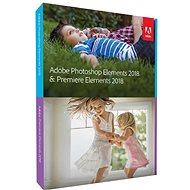 Adobe Photoshop Elements + Premiere Elements 2018 CZ - Grafický softvér