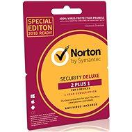Symantec Norton Security Deluxe 3.0 CZ, 1 používateľ, 3 zariadenia, 12 mesiacov, Retail – BOX - Antivírus