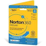 Symantec Norton 360 Deluxe 25 GB CZ, 1 používateľ, 3 zariadenia, 12 mesiacov (elektronická licencia)