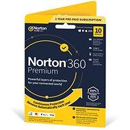 Symantec Norton 360 Premium 75 GB CZ, 1 používateľ, 10 zariadení, 12 mesiacov (elektronická licencia) - Elektronická licencia