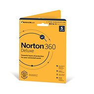Norton 360 Deluxe 50GB CZ, 1 user, 5 devices, 12 months (Electronic Licence) - Internet Security