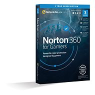 Norton 360 for gamers 50 GB CZ, 1 použivateľ, 3 zariadenia, 12 mesiacov (elektronická licencia)