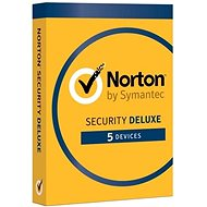 Symantec Norton Security Deluxe CZ 1 uživatel na 5 zařízení na 2 roky (BOX)