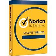 Symantec Norton Security Deluxe 3.0 CZ, 1 používateľ, 3 zariadenia, 12 mesiacov (elektronická licencia) - Elektronická licencia