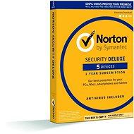 Symantec Norton Security Deluxe, 1 uživatel, 3 zar., 12 mes, 3 LICENCIA ZA CENU 2  (elektronická licencia) - Elektronická licencia