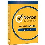 Symantec Norton Security Deluxe 3.0 CZ, 1 používateľ, 5 zariadení, 18 mesiacov (elektronická licencia) - Elektronická licencia