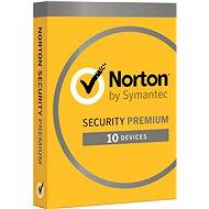 Symantec Norton Security Premium 25GB 3.0 CZ, 1 používateľ, 10 zariadení, 12 mesiacov (elektronická licencia) - Elektronická licencia