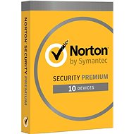 Norton Security Premium CZ, 1 User, 10 Devices, 3 Years (Electronic License) - Internet Security