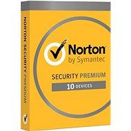 Norton Security Premium CZ, 1 používateľ, 10 zariadení, 3 roky (elektronická licencia)
