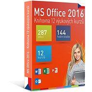 GOPAS MS Office 2016 – 12 samoštudijných výukových kurzov na 365 dní CZ (elektronická licencia) - Elektronická licencia