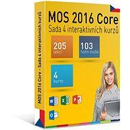 GOPAS MS MOS 2016 – Súbor 4 interaktívnych kurzov na 365 dní CZ (elektronická licencia) - Elektronická licencia