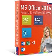 GOPAS MS Office 2016 – 12 samoštudijných výukových kurzov na 365 dní SK (elektronická licencia) - Vzdelávací program