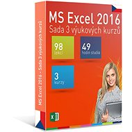 GOPAS MS Excel 2016 - 3 Self-study Courses for 365 Days CZ (Electronic License) - Education Program