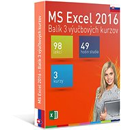 GOPAS MS Excel 2016 - 3 Self-study Courses for 365 Days SK (Electronic License) - Education Program